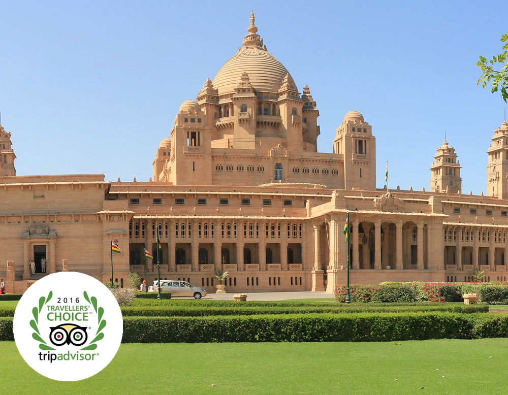 What can you learn fro TripAdvisor's top hotel, the Umaid Bhawan Palace