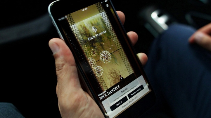 Some large hotel chains have begun developing custom mobile apps