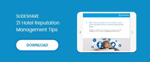Free download: 21 hotel reputation management tips