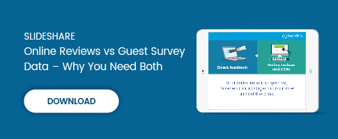 Online Reviews vs Guest Survey Data – Why You Need Both in 2017