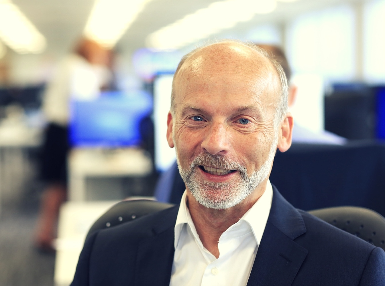 Welcome to our new Non-Executive Chairman, John Caines